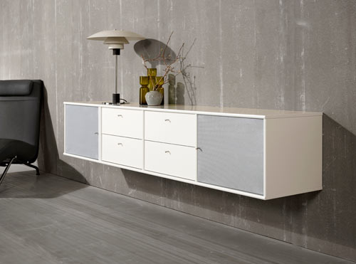 MISTRAL AV as sideboard.